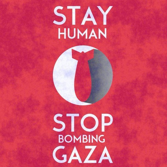 Basta bombe su Gaza!